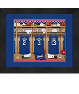 Personalized Los Angeles Clippers 12 x 16 Locker Room Framed Print - $63.95