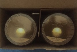 (LOT OF 2) Yankee Candle Pure Radiance Crackling Sun Bright 40-50 Hour B... - $27.58