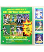 Baseballs 100 Hottest Rookies Cards by Score 1989-90 Mint/Factory Sealed - $17.81