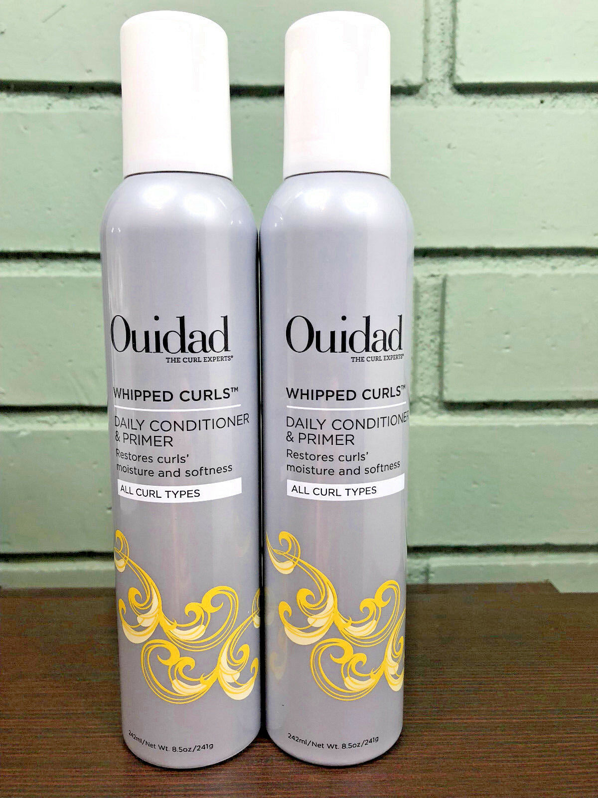 Ouidad Curl Recovery Whipped Curls Daily Conditioner & Primer 8.5oz (2 PACK)