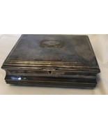 "prata 100 meridional silverplated  jelwery box Brazil 7""x 5 1/2""x 2 1/2"" - $49.50"