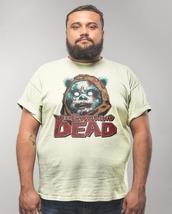 EWOKING DEAD T shirt The Walking Dead Star Wars Ewoks Sci Fi Horror Zombie tee image 3