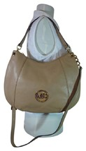 NWT Michael Kors Dark Khaki Convertible Fulton Shoulder/Hobo/Xbody Bag -... - $304.92