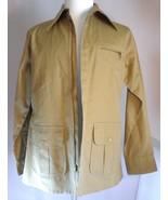 Arthur Richards Sport Safari Jacket Mens Khaki Beige Zip Up Size Large - $54.95