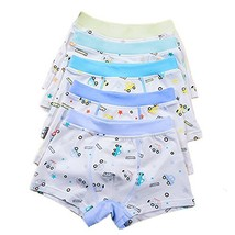 Boys 5 Pack Comfort Soft Boxer Brief Cotton Underwear 4-6 years, Car - $15.19