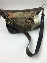 COACH  Patchwork G0893-F12842 Handbag Tote Shoulder Bag Large - $55.43