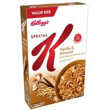 Kellogg's Special K, Breakfast Cereal, Vanilla and Almond, Family Size, ... - $7.50