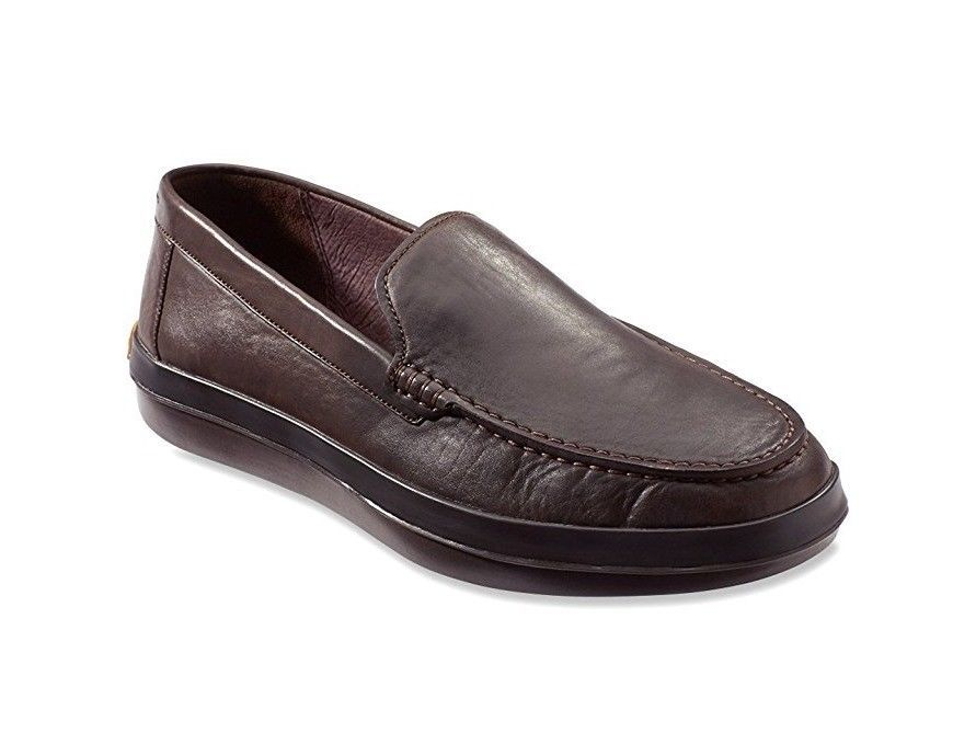 Tommy Bahama Men's Reston Slip-On Shoes in DK Brown, Size 8 $138 BNIB
