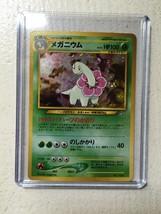 MEGANIUM Japanese Holo Pokemon #154 Mint never played US Free Shipping - $11.97