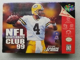 NFL Quarterback Club 99 Factory Sealed N64 Nintendo 64 Green Bay Bret Fa... - $19.79