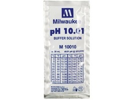 Milwaukee Buffer Solution pH 10.01 - Box of 25 (outdated) - $12.96 CAD