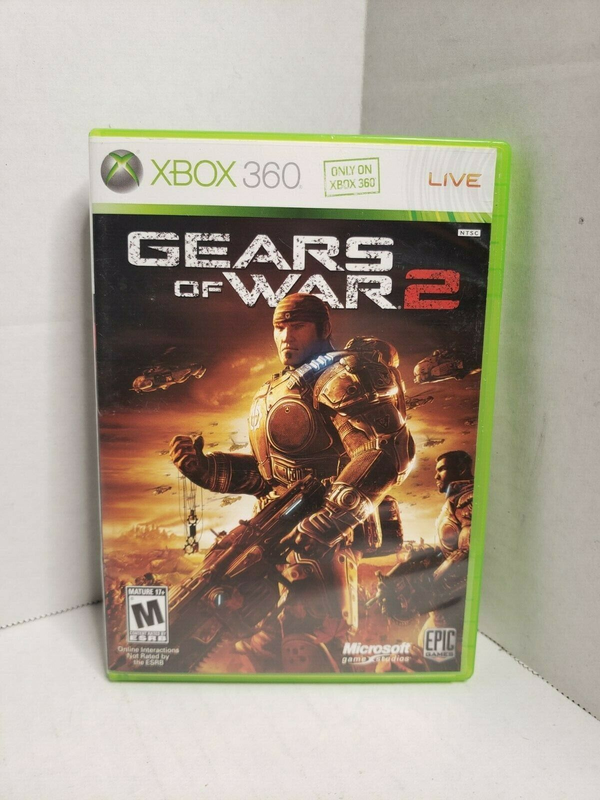 A1=Gears of War 2 (Microsoft Xbox 360, 2008) image 1
