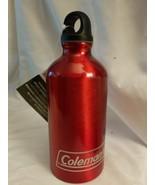 Coleman Aluminum Bottle Display 16 Oz Aluminum Red - $6.88