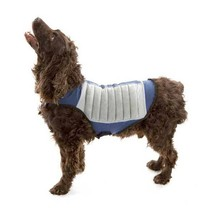 Cool K9 Dog Cooling Jacket Medium Blue/Gray CK9-2 - $41.25