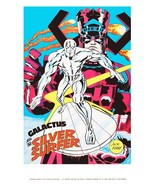 Marvelmania 24 x 36 Reproduction Character Poster GALACTUS and The Silve... - $45.00