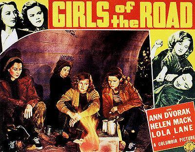 Primary image for Girls Of The Road - 1940 - Movie Poster