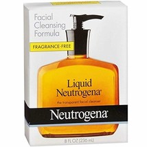 Liquid Neutrogena Fragrance-Free Facial Cleanser with Glycerin, Hypoalle... - $9.71