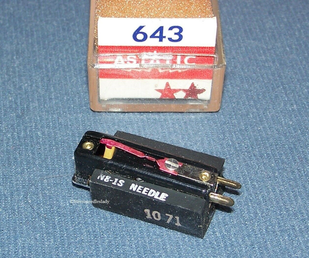 Astatic 643 PHONOGRAPH CARTRIDGE NEEDLE Electro-Voice EV 5465 Delmonico EG-8813