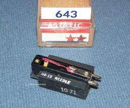 Astatic 643 PHONOGRAPH CARTRIDGE NEEDLE Electro-Voice EV 5465 Delmonico EG-8813 image 1