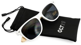 Oct17 Wood Bamboo Wooden Vintage Sunglasses Eyewear For Mens Womens - White - $24.12
