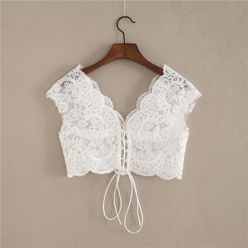 Lace tops capsleeve 4