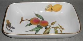 Royal Worcester EVESHAM GOLD PATTERN Rectangular Baking Dish MADE IN ENGLAND image 2