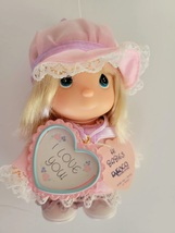 "Precious Moments Hi Babies 5"" Doll NEW Enesco I Love You  Doll 1991 Blonde Girl - $8.99"