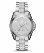 New Michael Kors Women's Bradshaw Logo Crystal Glitz Analog Watch Msrp$3... - $318.99