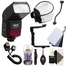 SFD-740C Speedlite Flash with New Flash Accessories for Canon Digital SL... - $97.70