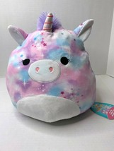 "Squishmallow 2021 FlipAMallow KellyToy Brand 12"" Miranda Unicorn and Pri... - $32.95"