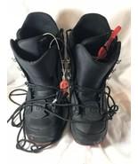 Burton Imprint Snow Board Boots Black Sz 7 Excellent Condition - $46.55