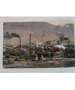 Vintage Old Leonard Meaderville Butte MT, Mining Precious Metals Postcar... - $22.79