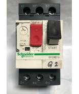 SCHNEIDER ELECTRIC GV2ME16 Manual Motor Starter,Button,9-14amp - $43.53