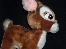"Disneyland walt disney world Bambi bendable plush fawn 15"" u. s. a - $22.74"