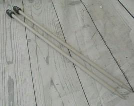 Susan Bates Size 11  8mm Pair  13 1/2  Single Point Knitting Needles  - $8.56