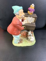 Melody In Motion Willie The Organ Grinder Mint Condition Out Of Box - $65.44