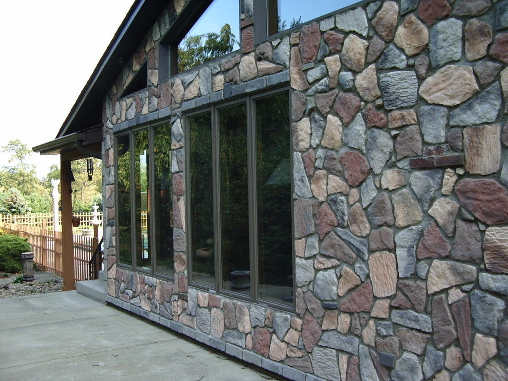 Primary image for #OAF-50 Fieldstone DIY Concrete Stone 50 Molds Make 100s Fireplace Pavers Veneer