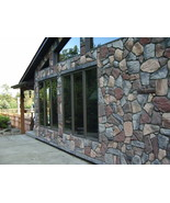 #OAF-50 Fieldstone DIY Concrete Stone 50 Molds Make 100s Fireplace Paver... - $399.99