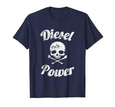 Diesel Power Skull T-Shirt Truck 4X4 Motor Powerful Fuel Tee - $17.99+