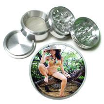 Indiana Pin Up Girls D1 63mm Aluminum Kitchen Grinder 4 Piece Herbs & Spices - $13.81