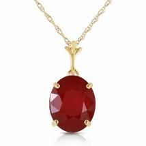 14 Karat Gold Not Just Seduction Ruby Pendant - $496.80