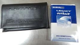 2002 Subaru Legacy & Outback Owner's Manual Damp 84736 - $14.95