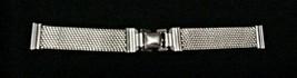 White Gold Filled 1/20-12K Bracelet 2 pc Watch Band NOS - $54.45