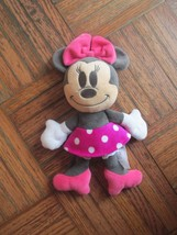 Disney BABY MINNIE MOUSE Plushed AUTHENTIC STORE Huggably Soft HTF Toy - $44.74