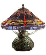 "Meyda Tiffany Beautifully Detailed Dragonfly Cone Table Lamp 16""H - $412.00"