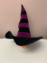 Vintage Halloween 1999 Paper Magic Group Costume Witch Hat Adult Purple ... - $33.87