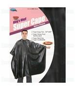 "Dream King's Vinyl Super Cape Hair Salon Wear Barber Stylist Large 66"" L... - $10.95"