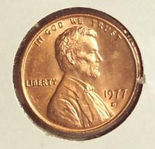 1977-D Lincoln Memorial Penny Gem BU #01121 - $0.89