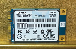 Toshiba 256GB Laptop mSATA SSD Solid State Drive THNSNH256GMCT - $53.88