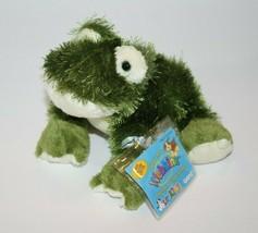 Webkinz FROG HS001 Green White Eyelash Plush Stuffed Soft Toy New Sealed Code - $14.49
